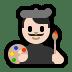 👨🏻🎨 man artist: light skin tone Emoji on Windows Platform