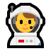 👨‍🚀 man astronaut Emoji on Windows Platform
