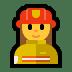 👩🚒 woman firefighter Emoji on Windows Platform