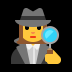 🕵️‍♀️ woman detective Emoji on Windows Platform