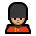 💂🏼 guard: medium-light skin tone Emoji on Windows Platform