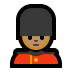 💂🏽 Medium Skin Tone Guard Emoji on Windows Platform