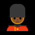 💂🏾 guard: medium-dark skin tone Emoji on Windows Platform