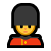 💂♂️ man guard Emoji on Windows Platform