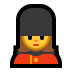 💂‍♀️ woman guard Emoji on Windows Platform