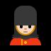 💂🏻♀️ woman guard: light skin tone Emoji on Windows Platform