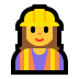 👷‍♀️ Female Construction Worker Emoji on Windows Platform