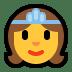 👸 princess Emoji on Windows Platform