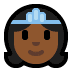 👸🏾 princess: medium-dark skin tone Emoji on Windows Platform