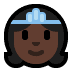 👸🏿 princess: dark skin tone Emoji on Windows Platform