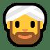 👳♂️ man wearing turban Emoji on Windows Platform
