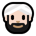 👳🏻‍♂️ man wearing turban: light skin tone Emoji on Windows Platform