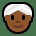 👳🏾♀️ woman wearing turban: medium-dark skin tone Emoji on Windows Platform