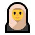 🧕 woman with headscarf Emoji on Windows Platform