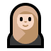 🧕🏻 woman with headscarf: light skin tone Emoji on Windows Platform