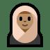 🧕🏽 woman with headscarf: medium skin tone Emoji on Windows Platform