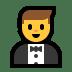 🤵 man in tuxedo Emoji on Windows Platform