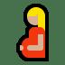 🤰🏼 pregnant woman: medium-light skin tone Emoji on Windows Platform