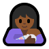 🤱🏾 breast-feeding: medium-dark skin tone Emoji on Windows Platform