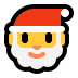 🎅 Santa Claus Emoji on Windows Platform