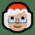 🤶🏼 Mrs. Claus: medium-light skin tone Emoji on Windows Platform