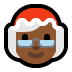 🤶🏾 Mrs. Claus: medium-dark skin tone Emoji on Windows Platform