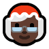 🤶🏿 Mrs. Claus: dark skin tone Emoji on Windows Platform