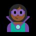 🦹🏾 supervillain: medium-dark skin tone Emoji on Windows Platform