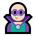 🦹🏻‍♂️ man supervillain: light skin tone Emoji on Windows Platform