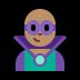 🦹🏽♂️ man supervillain: medium skin tone Emoji on Windows Platform