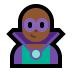 🦹🏾‍♂️ man supervillain: medium-dark skin tone Emoji on Windows Platform