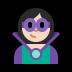 🦹🏻♀️ woman supervillain: light skin tone Emoji on Windows Platform