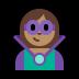 🦹🏽♀️ woman supervillain: medium skin tone Emoji on Windows Platform