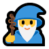 🧙‍♂️ Man Mage Emoji on Windows Platform
