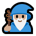🧙🏼♂️ man mage: medium-light skin tone Emoji on Windows Platform