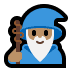 🧙🏽‍♂️ man mage: medium skin tone Emoji on Windows Platform