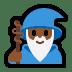 🧙🏾♂️ man mage: medium-dark skin tone Emoji on Windows Platform