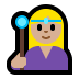 🧙🏼‍♀️ woman mage: medium-light skin tone Emoji on Windows Platform
