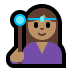 🧙🏽‍♀️ Medium Skin Tone Female Mage Emoji on Windows Platform