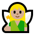 🧚🏼 fairy: medium-light skin tone Emoji on Windows Platform