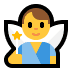 🧚‍♂️ man fairy Emoji on Windows Platform