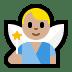 🧚🏼♂️ man fairy: medium-light skin tone Emoji on Windows Platform