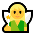 🧚‍♀️ woman fairy Emoji on Windows Platform