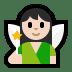 🧚🏻♀️ woman fairy: light skin tone Emoji on Windows Platform