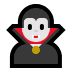 🧛‍♂️ man vampire Emoji on Windows Platform
