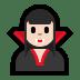 🧛🏻♀️ woman vampire: light skin tone Emoji on Windows Platform