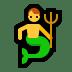 🧜♂️ merman Emoji on Windows Platform