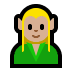 🧝🏼 elf: medium-light skin tone Emoji on Windows Platform
