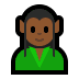 🧝🏾 elf: medium-dark skin tone Emoji on Windows Platform