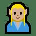 🧝🏼♂️ man elf: medium-light skin tone Emoji on Windows Platform